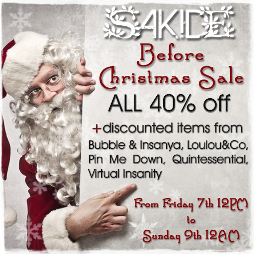 SAKIDE Before Christmas Sale